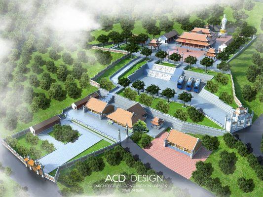 bản thiết kế chùa