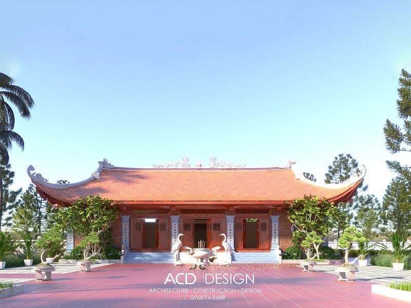Mẫu thiết kế đình làng đậm chất kiến trúc Việt