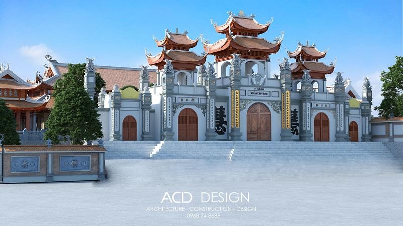 mẫu thiết kế chùa đẹp