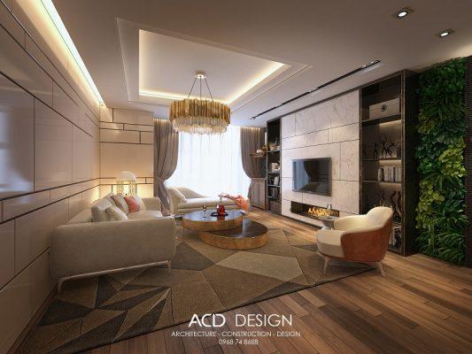 phong cách thiết kế hiện đại trong nội thất
