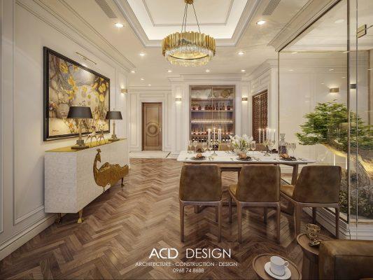thiết kế nội thất căn hộ sang trọng