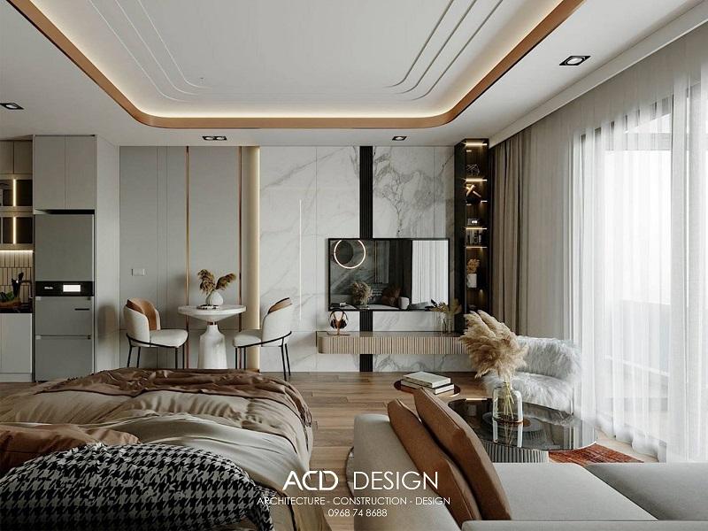 Thiết kế nội thất chung cư đơn giản mà đẹp