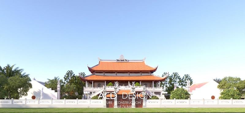 thiết kế xây dựng chùa