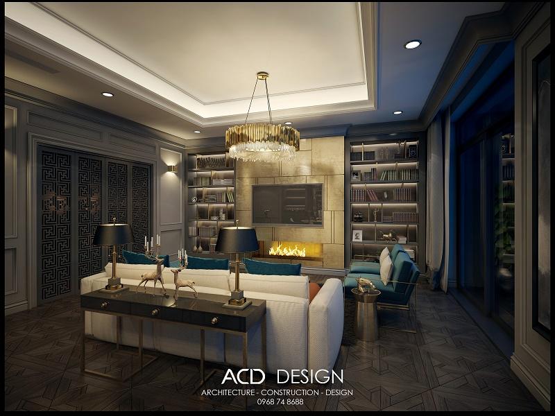 Thiết kế nội thất chung cư cao cấp đẹp