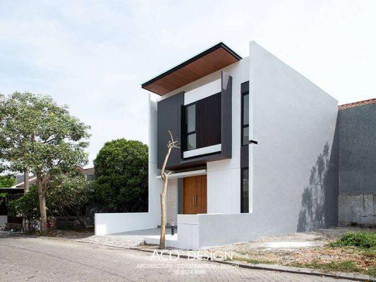 mẫu nhà phố 2 tầng 5x13m