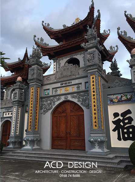 cổng tam quan đẹp