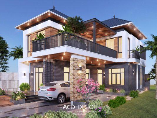 Thiết kế nhà đẹp Vĩnh Phúc