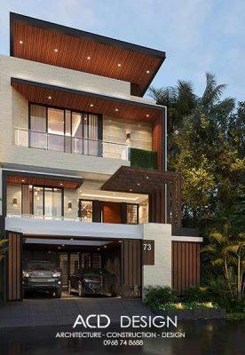 thiết kế nhà rộng 7m dài 17m